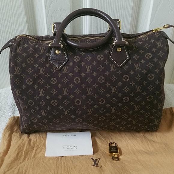 Louis Vuitton Handbags - LOUIS VUITTO MINILIN SPEEDY SIZE 30